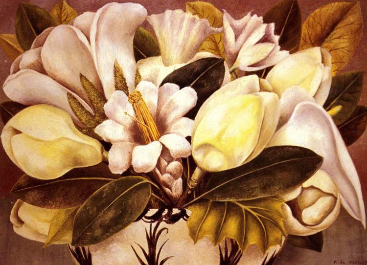 Frida Kahlo Magnolia's.jpg