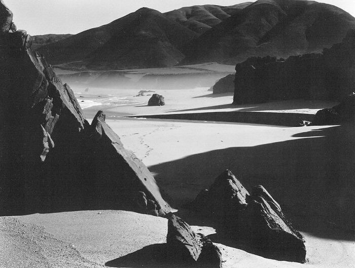 Photography: Brett Weston | Garrapata Beach