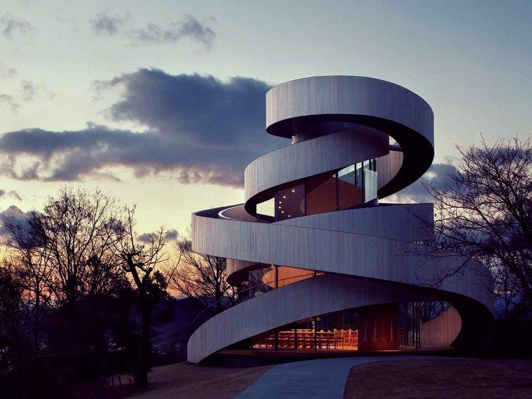 Architecture: Hiroshi Nakamura | Ribbon Chapel