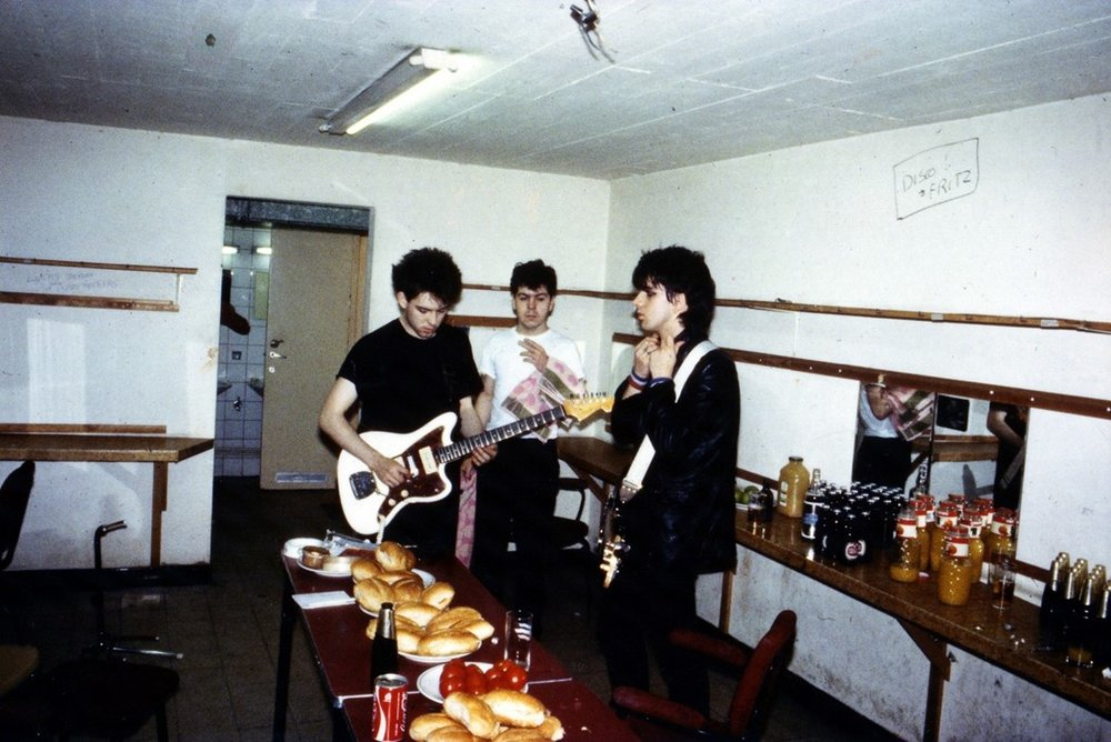 Photography: Richard Bellia | The Cure | Backstage 1981