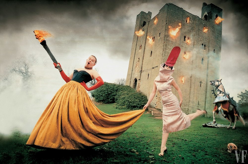 Photography: Vanity Fair | Alexander McQueen & Isabella Blow