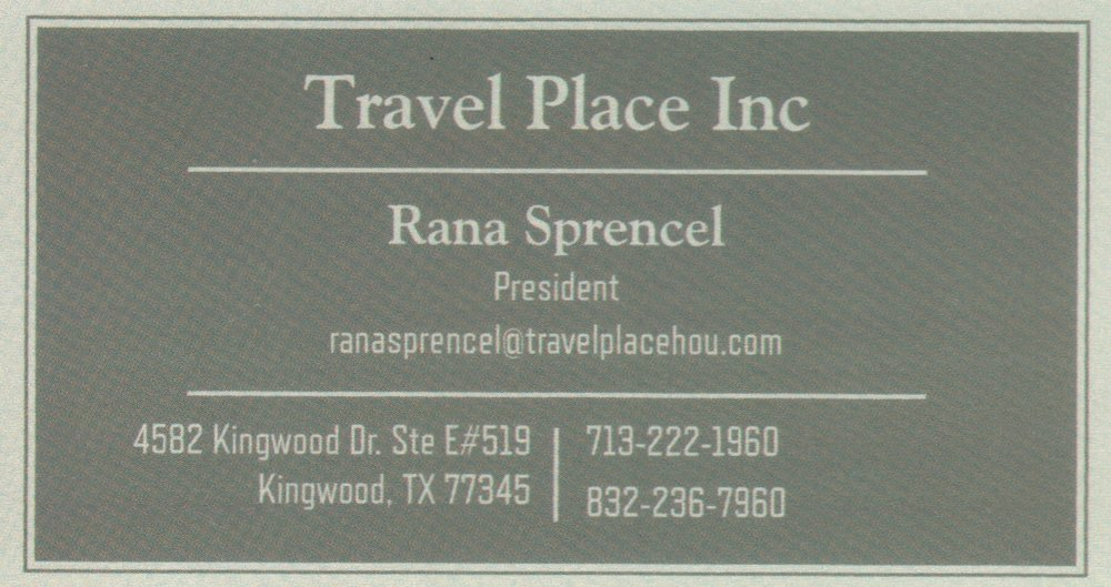Travel Place, Inc