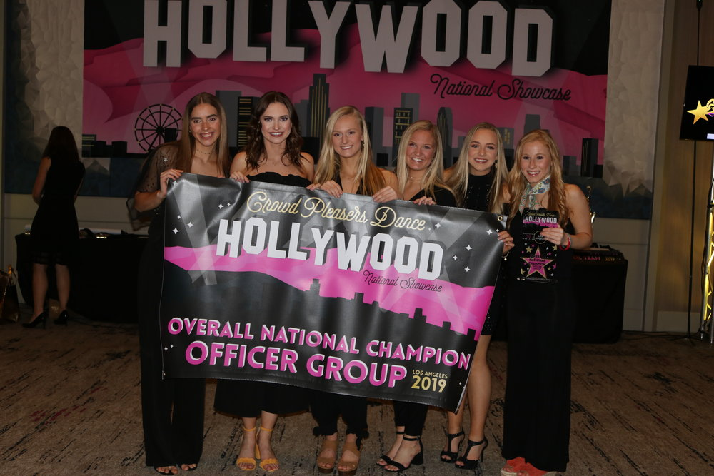 2019 Overall National Champion Officers -