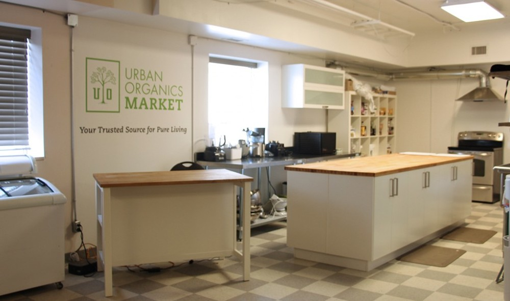 We built an in-house commercial kitchen to give us a space to educate and teach about all things natural living. We have classes and workshops with amazing knowledgeable instructors from right here in our community.