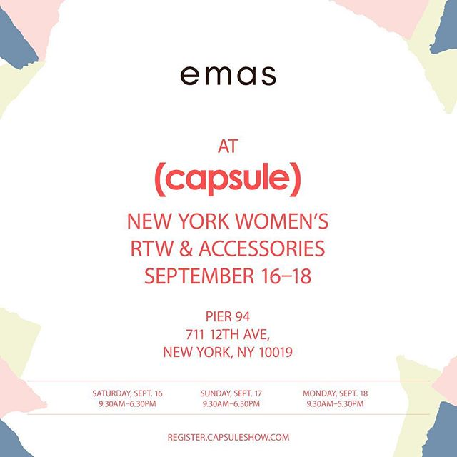 emas will be introducing 2018 spring and summer collection at #capsulenyc #fashion #fashionaccesories #leatherbag #leather #highfashion #original