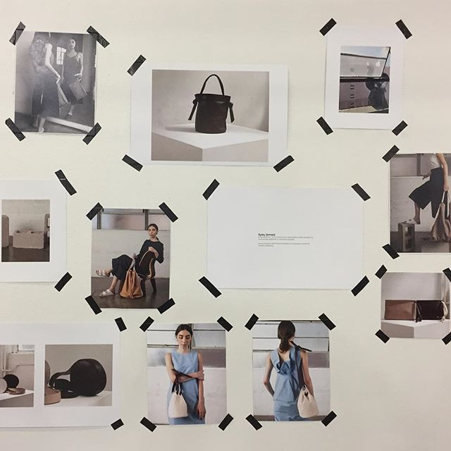 Inspiration Wall 2018 #capsulenyc #fashion #fashionaccesories #leatherbag #leather #highfashion #original