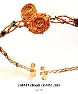 Fleet and Flower Copper Crown Kundalini