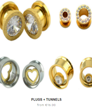 Fleet and Flower plugs and tunnels