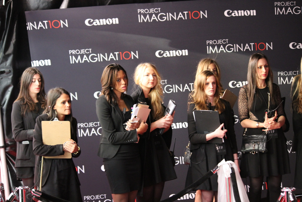 Led talent down the red carpet and coordinated media interviews at Lincoln Center for Canon Project Imaginat10n in New York, New York