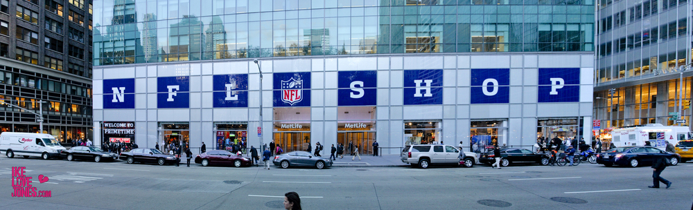 Administered press check-in & RSVP Lists for 3 events held at the NFL Popup Shop at Draft in New York City's Bryant Park