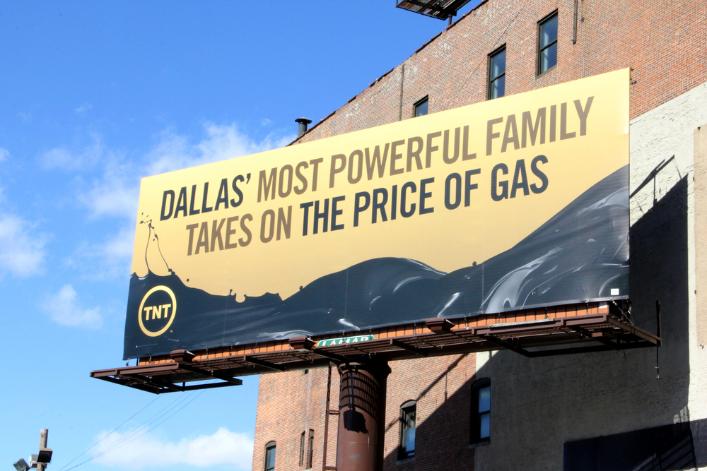 "Managed 4 Brand Ambassadors for TNT's ""Dallas"" Season 3 Premiere NYC Gas Station Stunt"