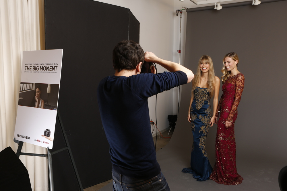 """Canon's """"The Big Moment"""" Event Series in NYC consisted of 3 events in one week in 2013"""