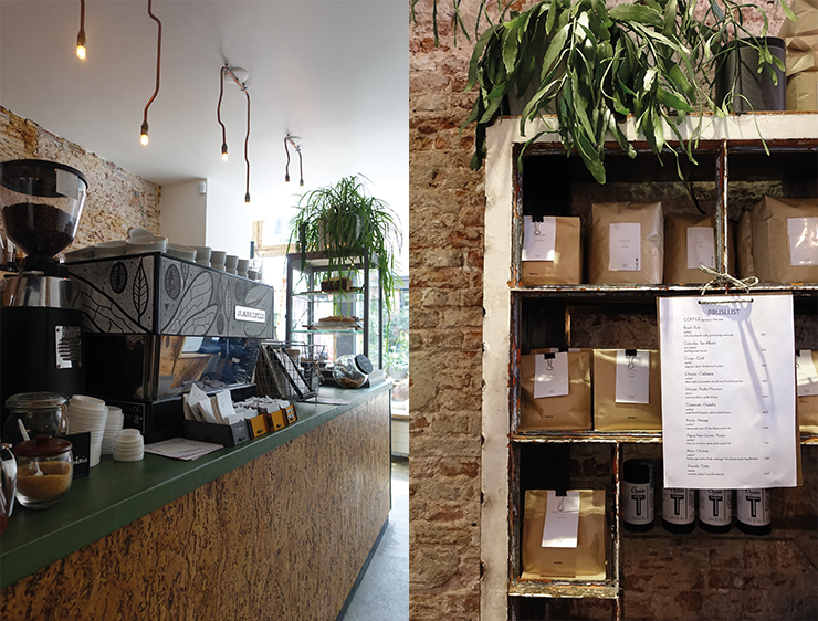 Koffie bonen - Haarlem