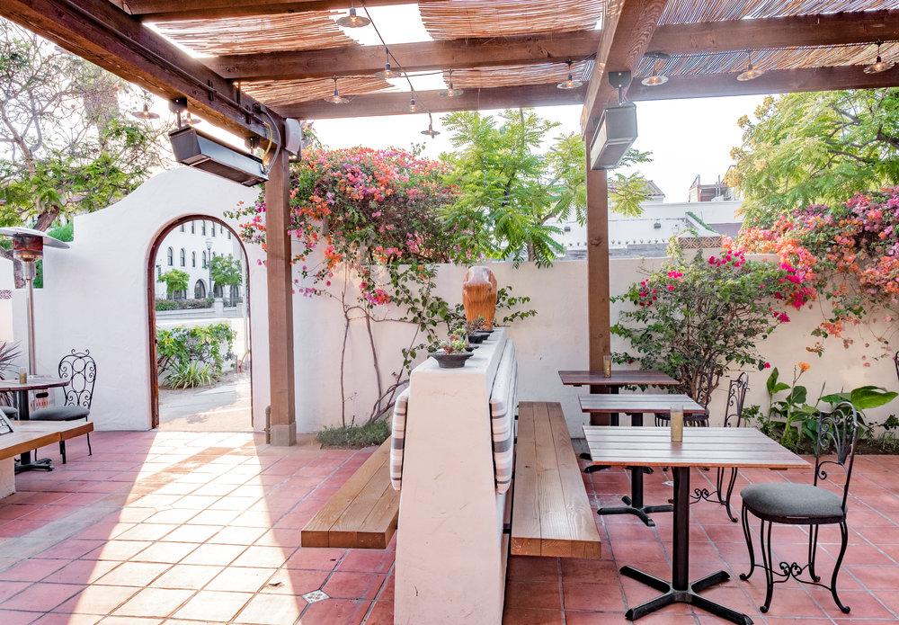 Loquita's outdoor patio