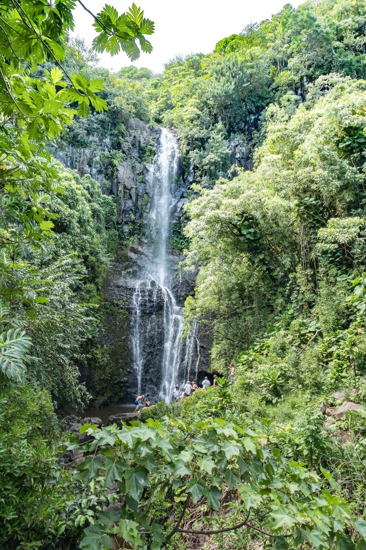 Wailua Falls on the Road to Hana