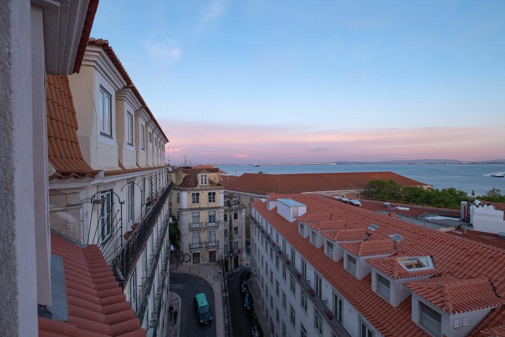 View from our room at Almaria Edificio Da Corte