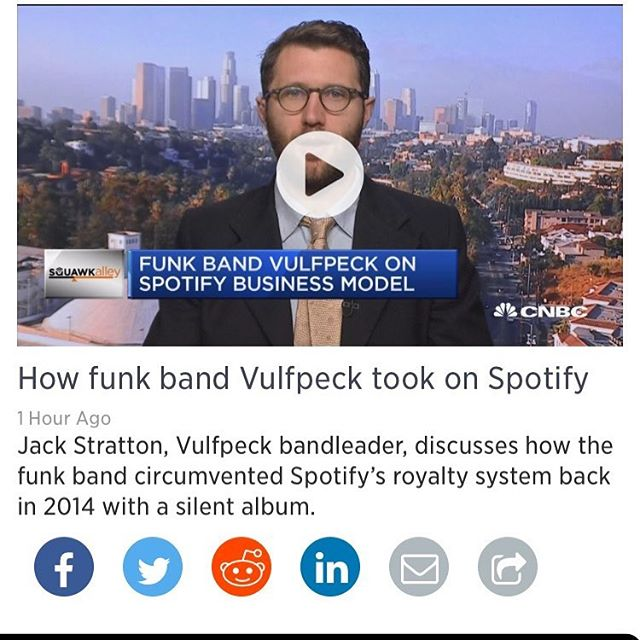 Waking up to this was the greatest gift. Go watch this interview with jack from @vulfpeck (link in bio)