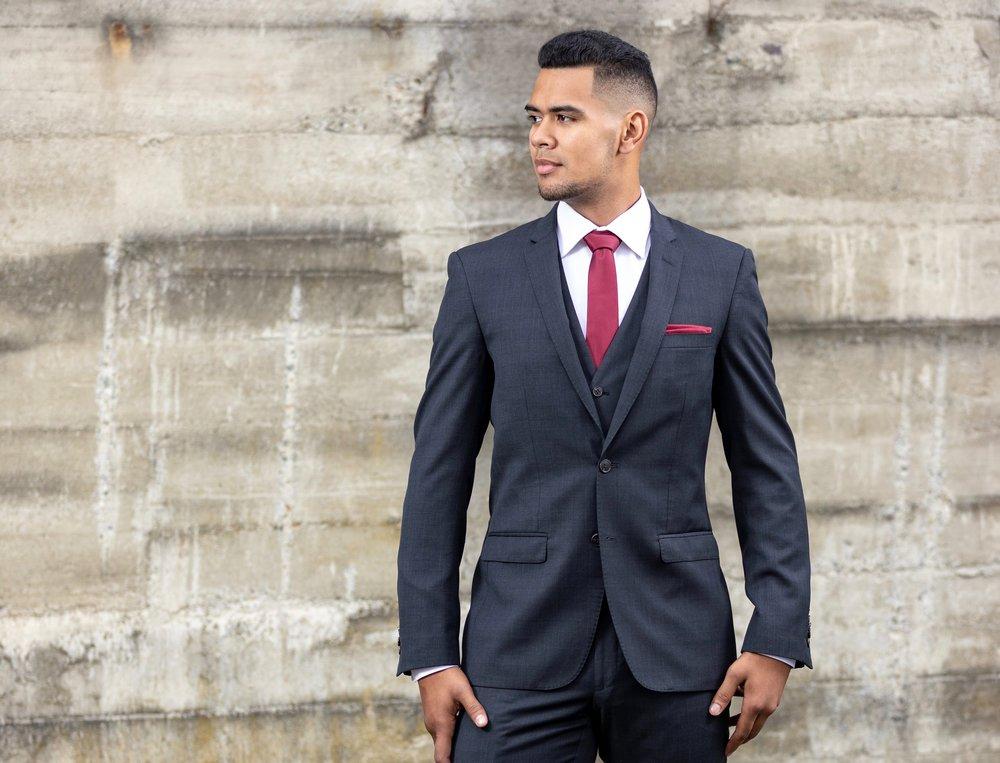 PRICES - Suit = $120Suit + Waistcoat = $155Jacket = $65Trouser = $55Waistcoat = $40Shirt = $30Shoes = $20Hats = $20Tie + Pocket Square = $15Shoes = $20