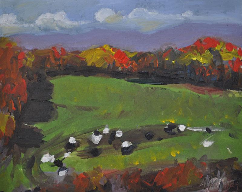 Ronny Brook Farm 112009 11x14 inches oil on canvas.jpg
