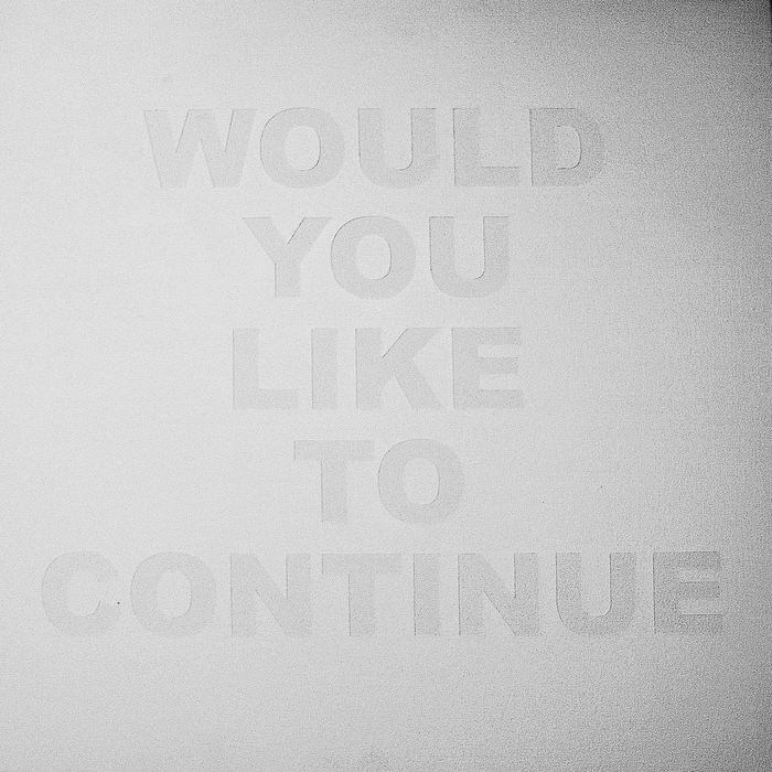 "Max Heller - ""Would You Like To Continue"" - $1500"