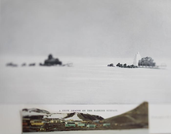 "John Holmgren-  ""District of the Penguins""   (23 1/2""x23 1/2"") -$750     JUROR AWARD"
