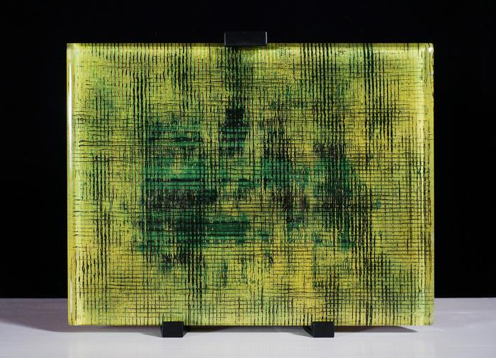 """Jill Burks-  """"Alpha Release""""   (9.5""""x7.5"""")   -NFS"""