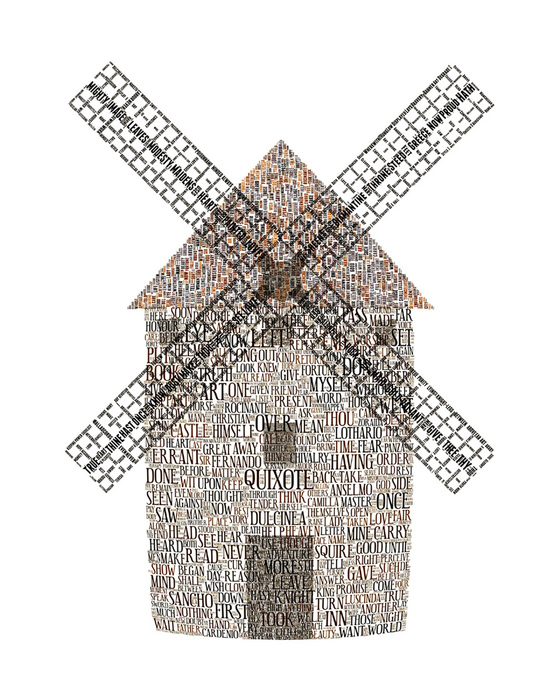"Brooke Jana -""Quixote's Giant""-(16""x20"")-$300"