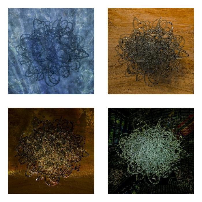 "Wobbe Koning-""Elements""-(15""x15"")-$2000"