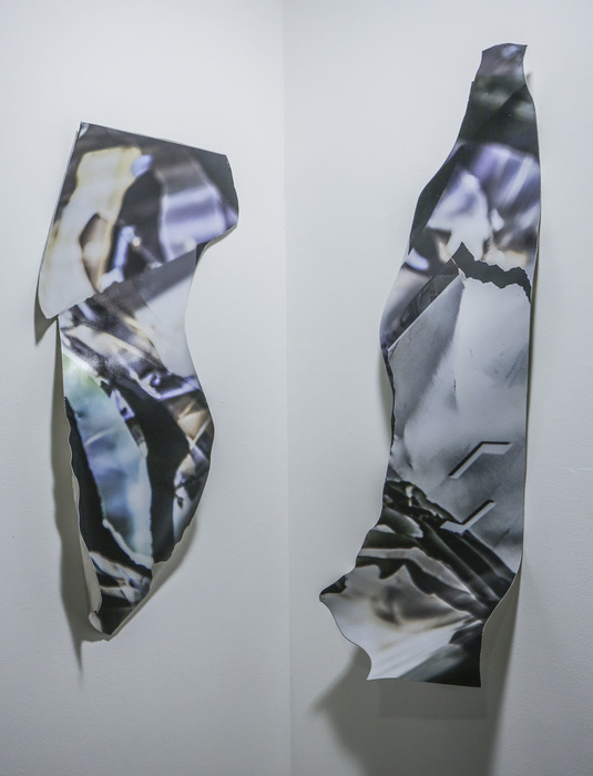 """Jason Isolini- """"Untitled (Corner)"""" (36""""x 28"""") - $700"""