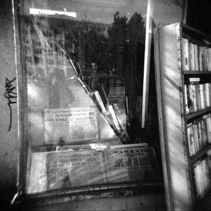 """Jim Allen -   """" News """"   (15""""x 15"""") -  $500"""