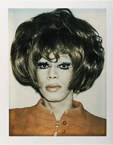 Andy Warhol,  Ladies and Gentlemen  (Helen/Henry Morales), 1974, Polaroid Polacolor print, Collection of Jeanne Greenberg Rohatyn