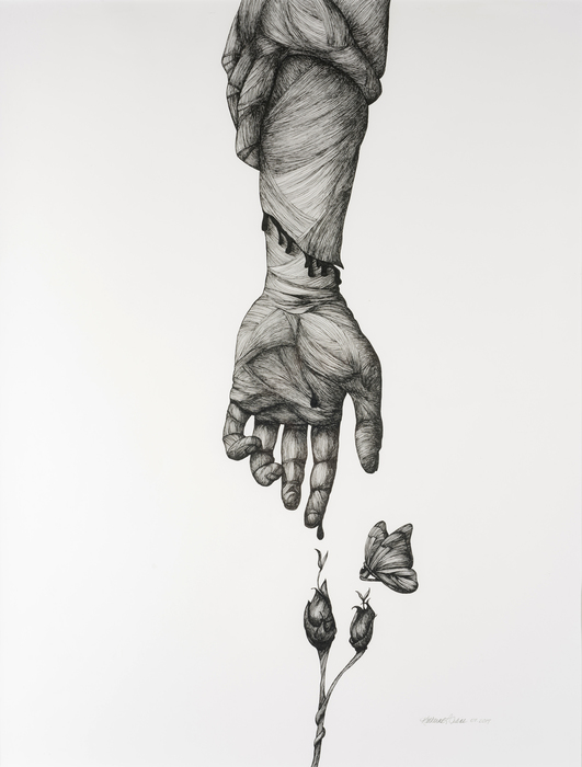 "Katherine L. Filice - ""Heal"" (25""x 30.5"") -  $2400"