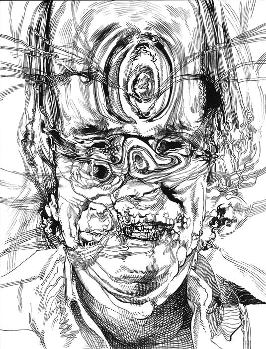 """Carson Grubaugh - """"I Am Ill Law""""  (8.5""""x 11"""") -  $200"""