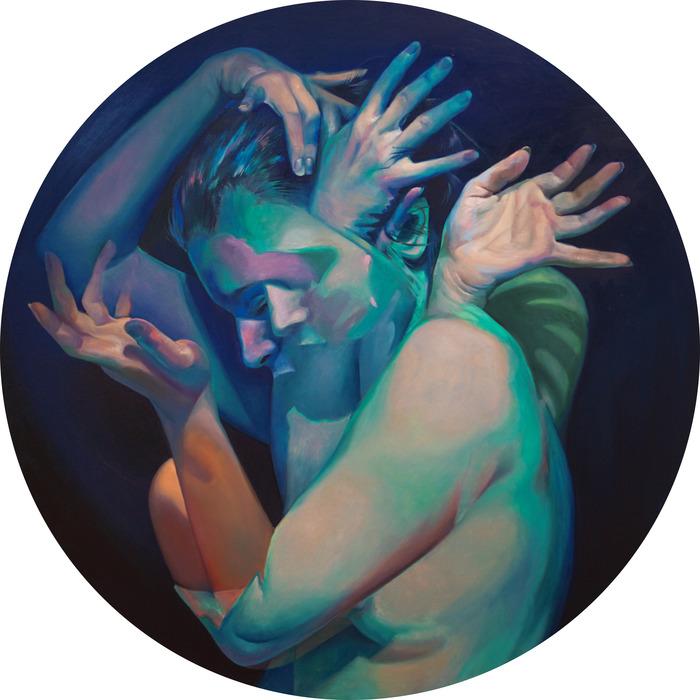 "Scott Hutchison -  ""Metamorphosis""  (26"" diam.) - $2700"