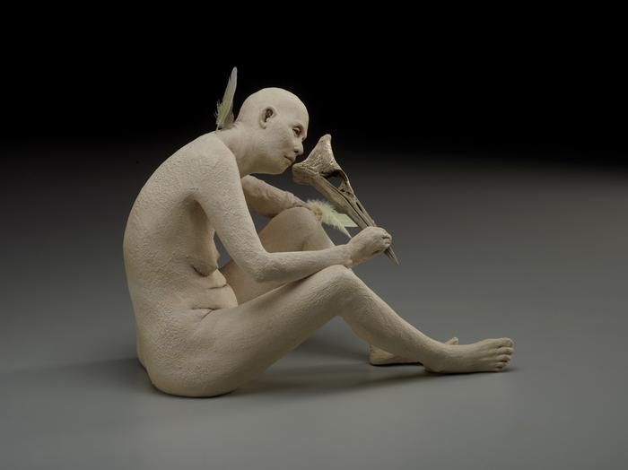 """Susannah Zucker - """"Mask""""  (9""""x 7"""" x 12"""") -  $4600 NOT AVAILABLE"""