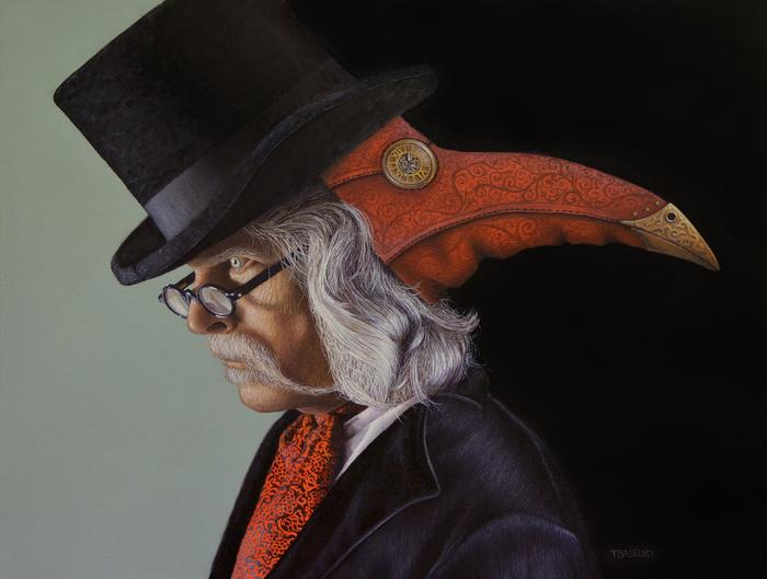 "Tony Baselici -  "" Janus""   (24"" x 30"") -  $5000"