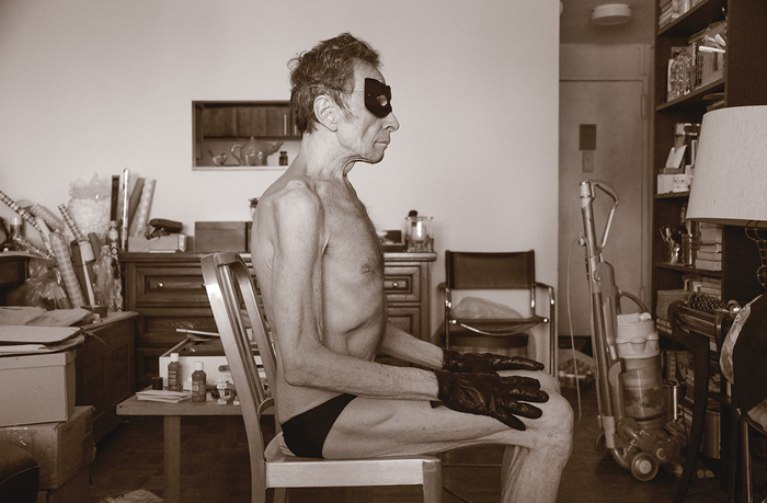 "Gary Beeber  ""Scott Seated in His Living Room""  (20"" x 30"") Inkjet  $1850"