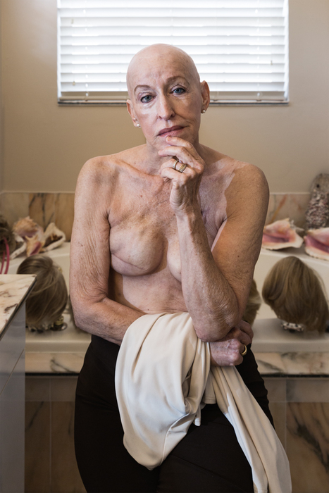 """Joan Lobis Brown -   Women of an UNcertain Age: Indomitable Baby Boomers Challenging Cultural Norms #1 -   Archival Pigment Print (20"""" x 15"""")  $1500"""