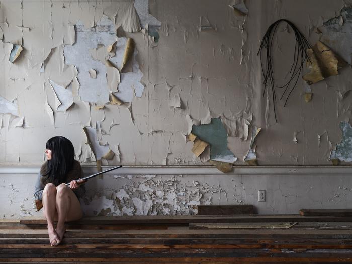 "Susan Copich -   Perched, 2017 -  Photography (40"" x 30"")  $4450"