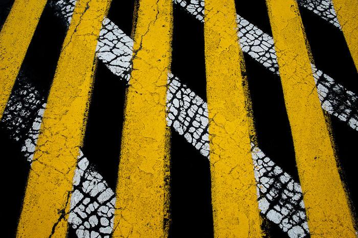 """Steven Edson -   Road Paint #15 -   Photography (38"""" x 27"""")   $2500"""