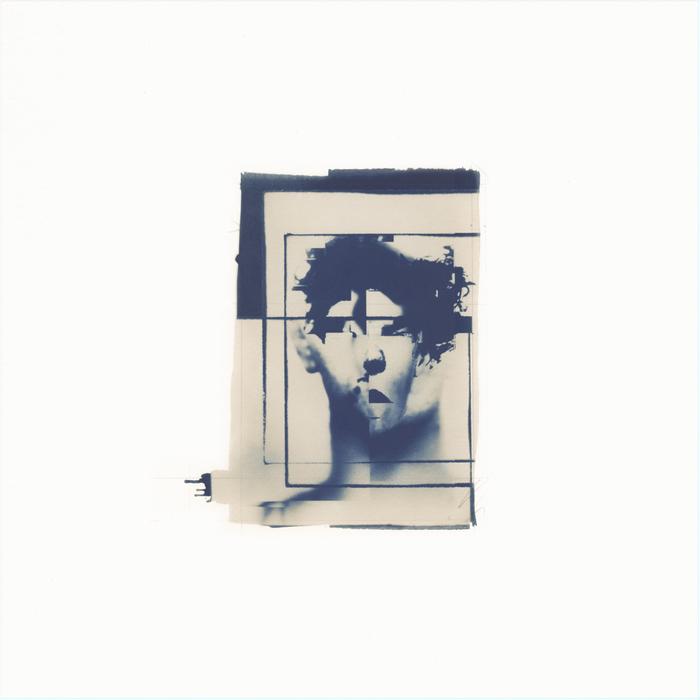 "J. Fredric May -   Authors Hallucination No. 83 ""Val"" -   Cyanotype, Digital & Pencil (17"" x 17"")  NFS"
