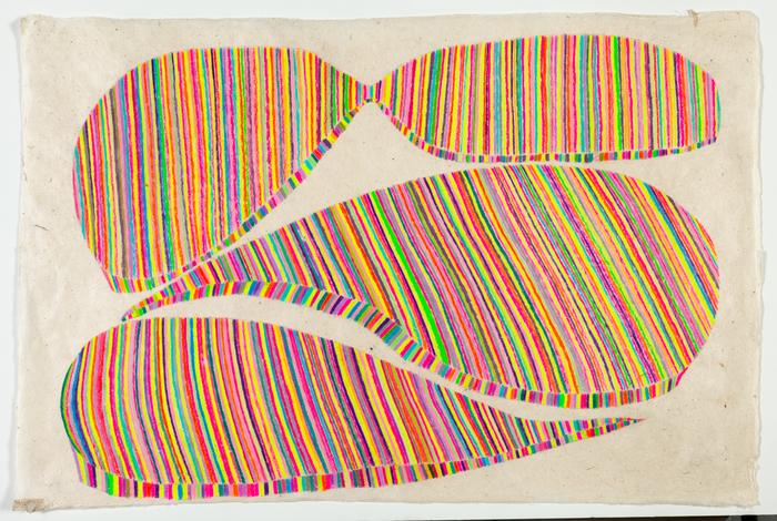 "Ellen Weider -   Leap of Faith -   Colored Pencil on Paper (20"" x 30"")  $550"