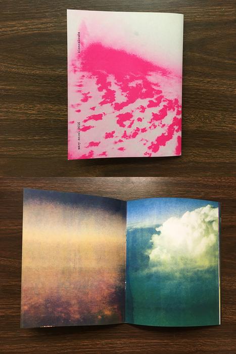 "Mary Ancel -   klonoklouds     -   Artist Book (8"" x 6.375"" )  $30"