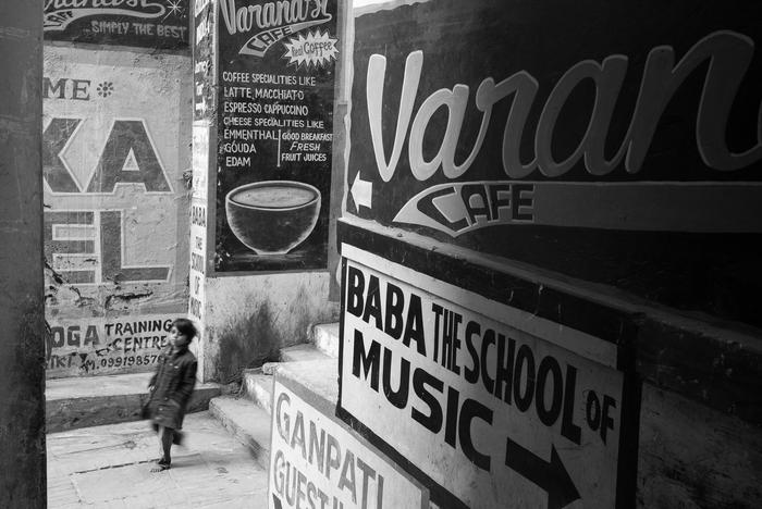 Robert Moore -   Varanasi Waif