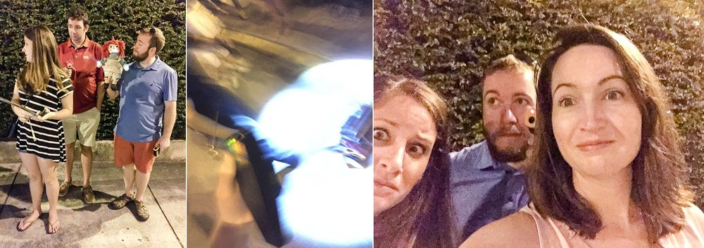 And that middle picture is totally a ghost portal to another dimension... BOO!