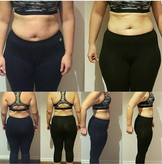 What can you do in 4 weeks? ALOT! This gorgeous Berwick Client lost 4.3kgs and 26cms in just 12 sessions.