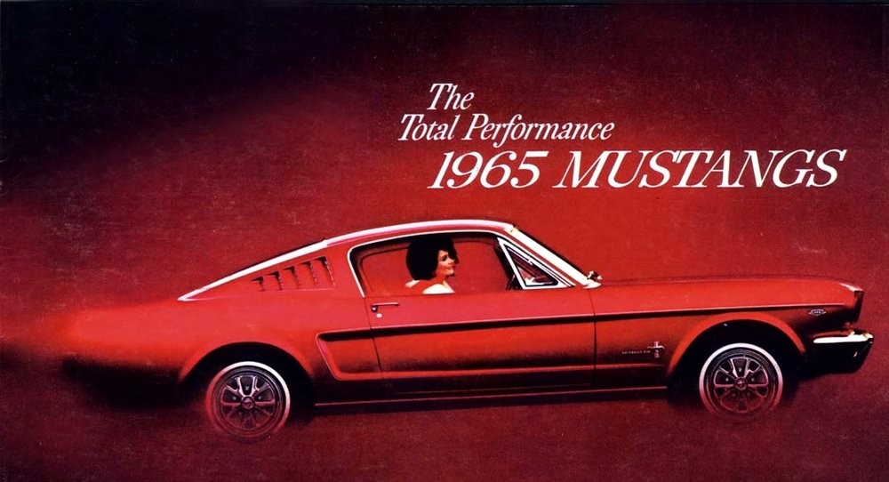 Mustang Fastback - the ultimate pony car