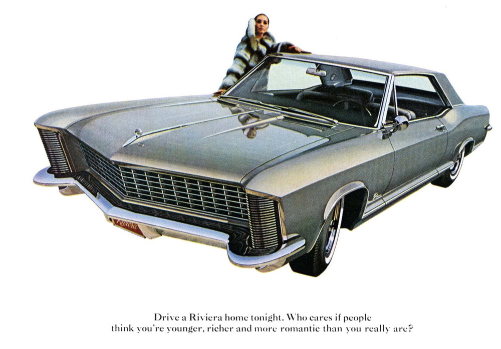Elegance, class and clamshell headlights - the '65 Riviera