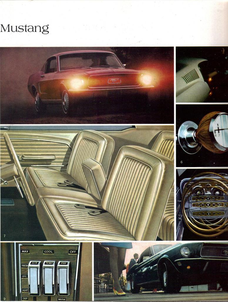 1967 Mustang - bench seat option