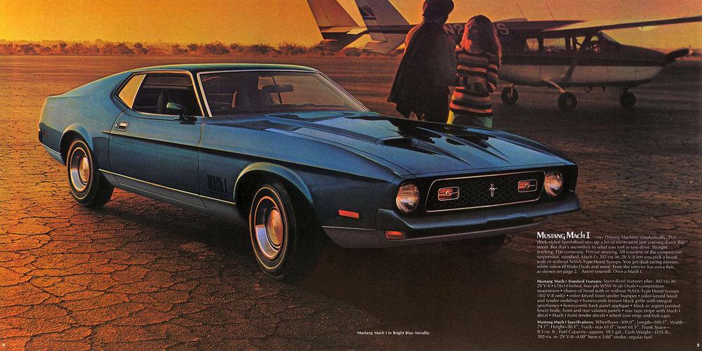 1972 Mustang Mach 1 sportsroof